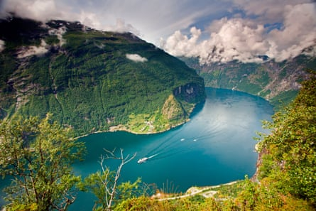 Pining … Ibsen was inspired by the fjords around Molde.