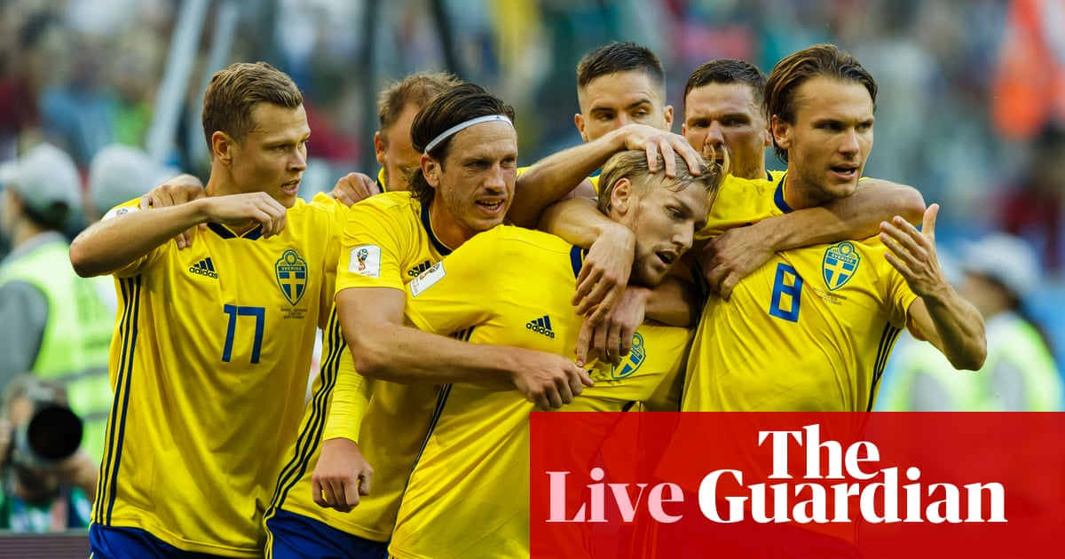 a6e3a9622 Sweden 1-0 Switzerland  World Cup 2018 – as it happened