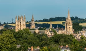 Oxford spires.