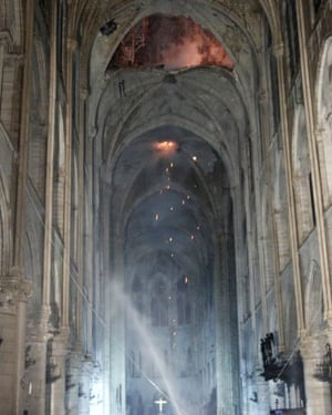The fire started in the late afternoon in one of the most visited monuments of the French capital.