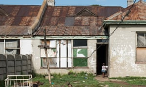 A dilapidated house in Durban Deep.