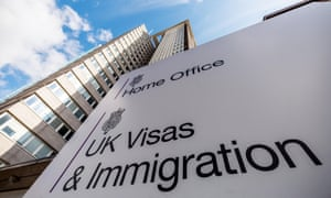 Home Office Visas & Immigration sign