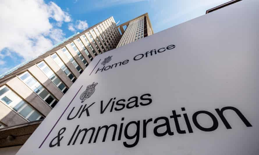 The Home Office UK Visas & Immigration Office at Lunar House in Croydon, London, UK.J65XP8 The Home Office UK Visas & Immigration Office at Lunar House in Croydon, London, UK.