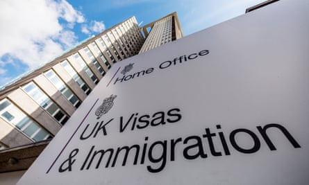 The Home Office UK Visas & Immigration office.