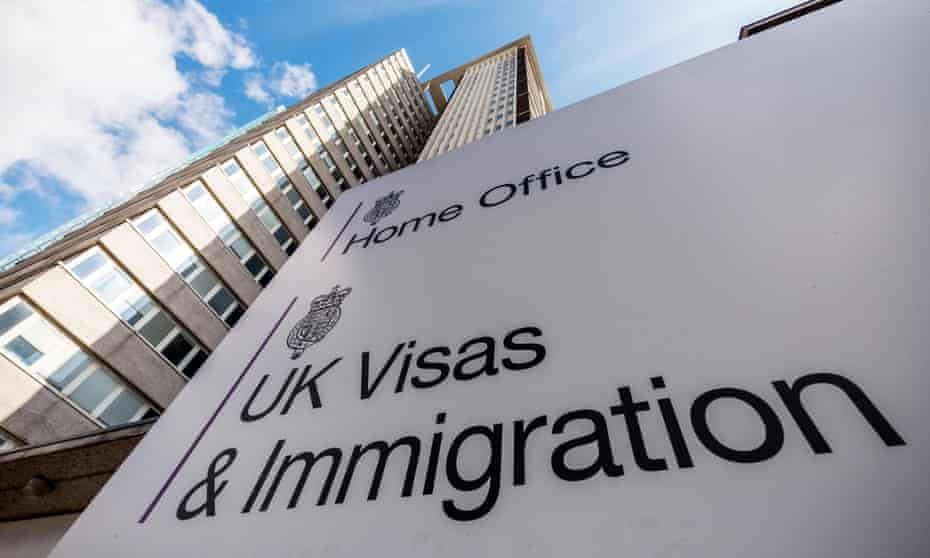 The Home Office UK visas and immigration office in Croydon