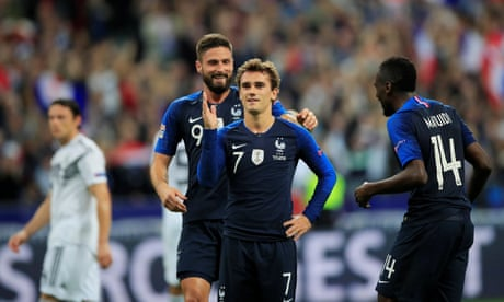 France add to Germany s woes as Antoine Griezmann leads comeback win 54dcf2c49c717