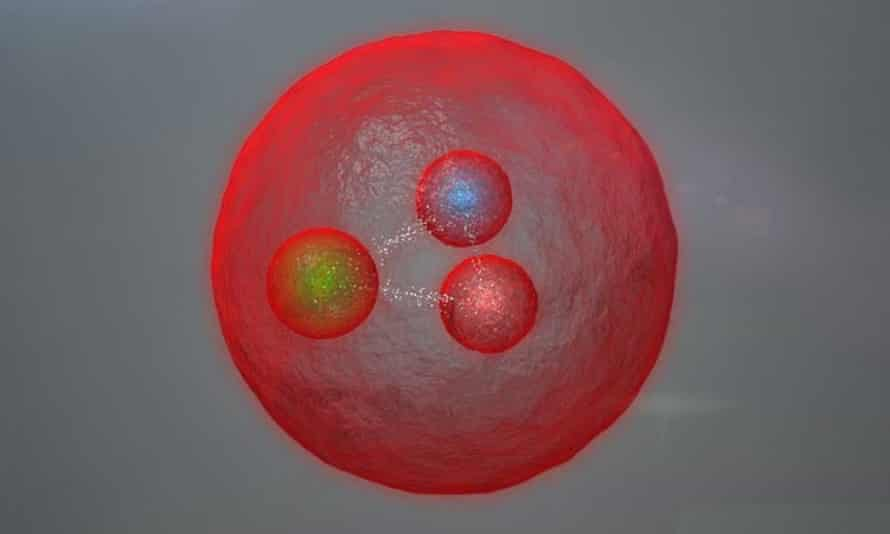Representation of a doubly heavy-quark baryon