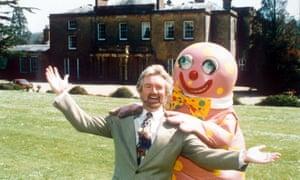 Noel Edmonds and Mr Blobby in 1994.