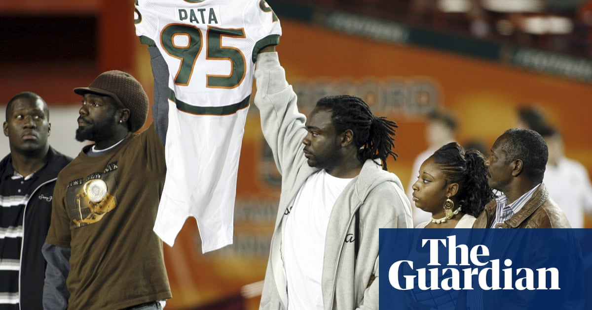 Former Miami football player arrested in 2006 murder of teammate Bryan Pata