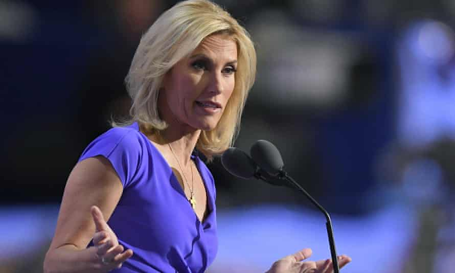 Laura Ingraham: questioning the vaccine's efficacy.