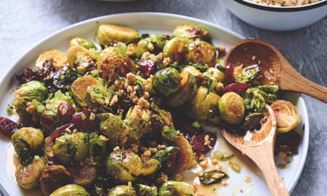 Matt Preston's brussels sprouts with lap cheong and fish sauce caramel recipe