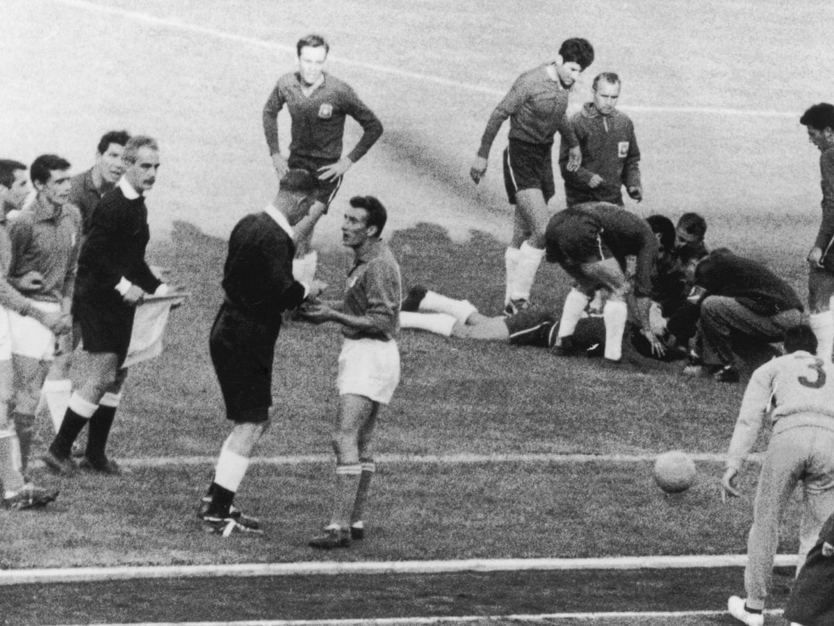 Chile 2-0 Italy: 1962 World Cup, the Battle of Santiago – as it ...