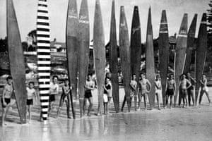 Cronulla surfers, 1955