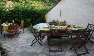 Breakfast at Au Nid des Thés