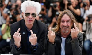 Penetration: Jim Jarmusch and Iggy Pop stick 'em up in Cannes.