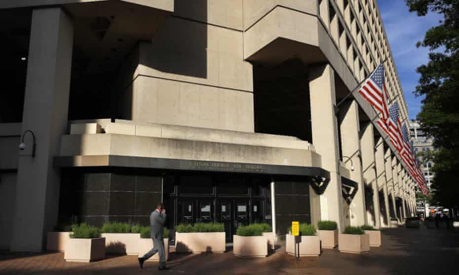The J Edgar Hoover FBI building on Pennsylvania Avenue in Washington DC.