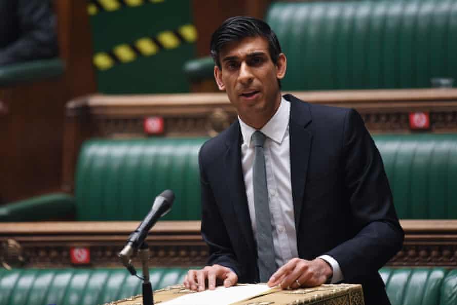 Rishi Sunak delivering his budget statement last week.