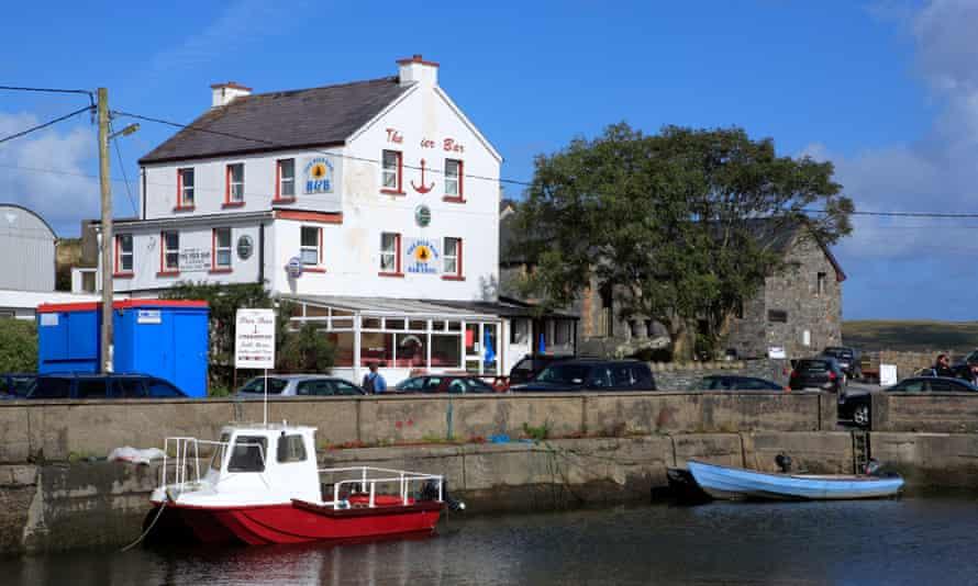 Cleggan harbour, County Galway, Ireland.