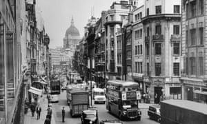 Fleet Street in October 1964.