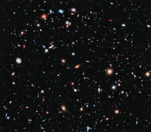 25 September 2012 – Called the eXtreme Deep Field, or XDF, this photo was assembled by combining 10 years of Hubble space telescope photographs taken of a patch of sky at the centre of the original Hubble Ultra Deep Field