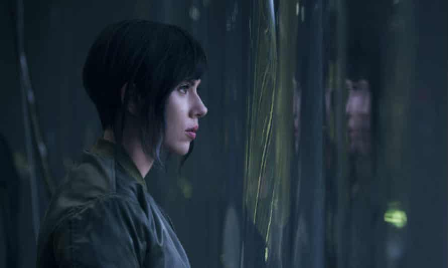 Landis's comments have added to the controversy … Scarlett Johansson in Ghost in the Shell