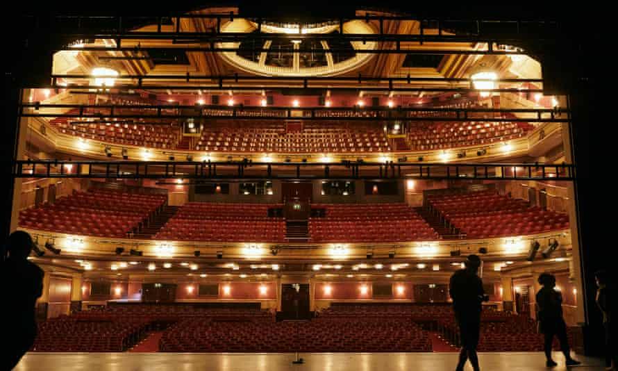 Ghost Light was filmed at Edinburgh's Festival theatre.