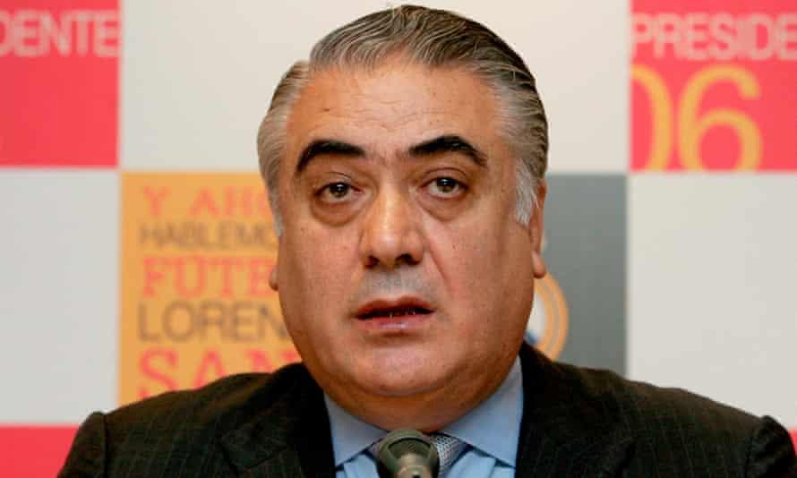 Lorenzo Sanz in 2006.