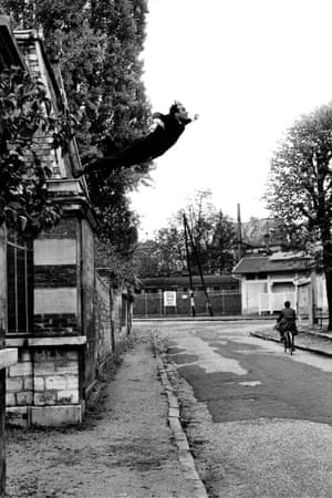 Yves Klein's Leap into the Void. Photograph: Shunk-Kender/J Paul Getty Trust.