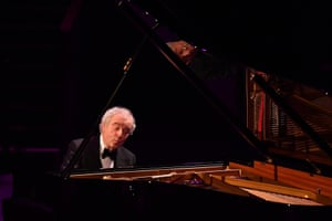 András Schiff playing late-night Bach: 'unforgettable'.