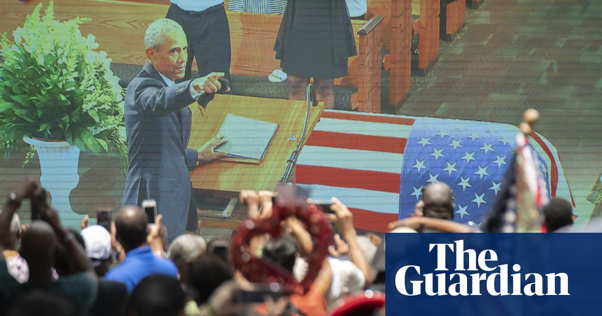 First Thing: Obama's eulogy for John Lewis was powerfully political – The Guardian