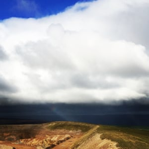 Layers of weatherA low lying storm pounds the Yorkshire Dales Photograph: Simon Bleasdale/GuardianWitness