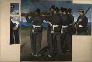 Edouard Manet's The Execution of Maximilian (about 1867-8).