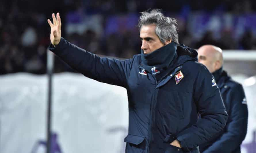 Paulo Sousa's Fiorentina appointment was met with open hostility in Florence