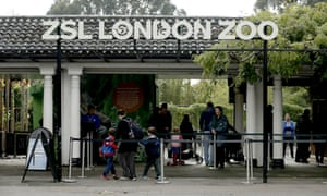 The main entrance of London Zoo.