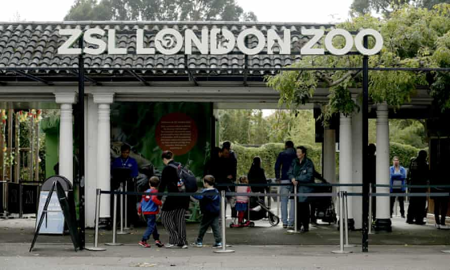 The main entrance of London Zoo.