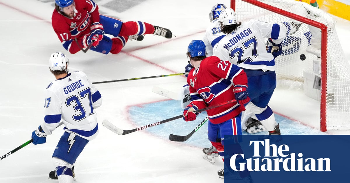 Dogged Canadiens take Game 4 from Tampa Bay to avoid Stanley Cup sweep