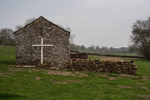 The prayer barn built by Simon and used as a space for recovery after his son died.