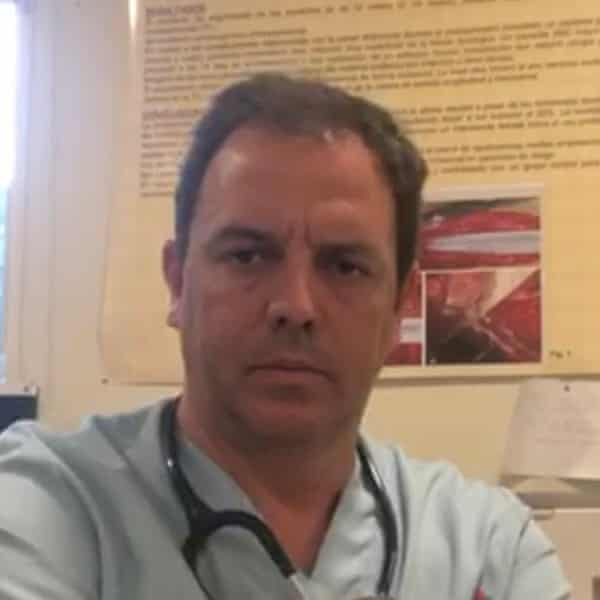 Pablo Cereceda, a surgeon and representative for the Amyts medical association in Spain.