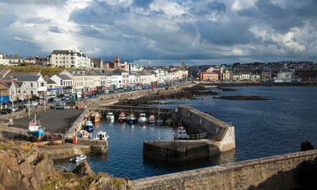 Portstewart harbour and promenade, Co Derry