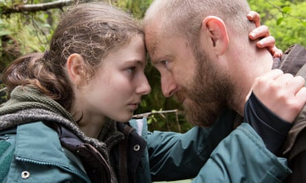 Clarity and cool … Thomasin McKenzie and Ben Foster.