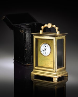 Lord Nelson's watch and case