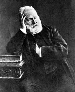 Victor Hugo in the 1880s.