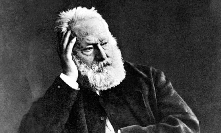 Party on, dude … Victor Hugo, circa 1880s.