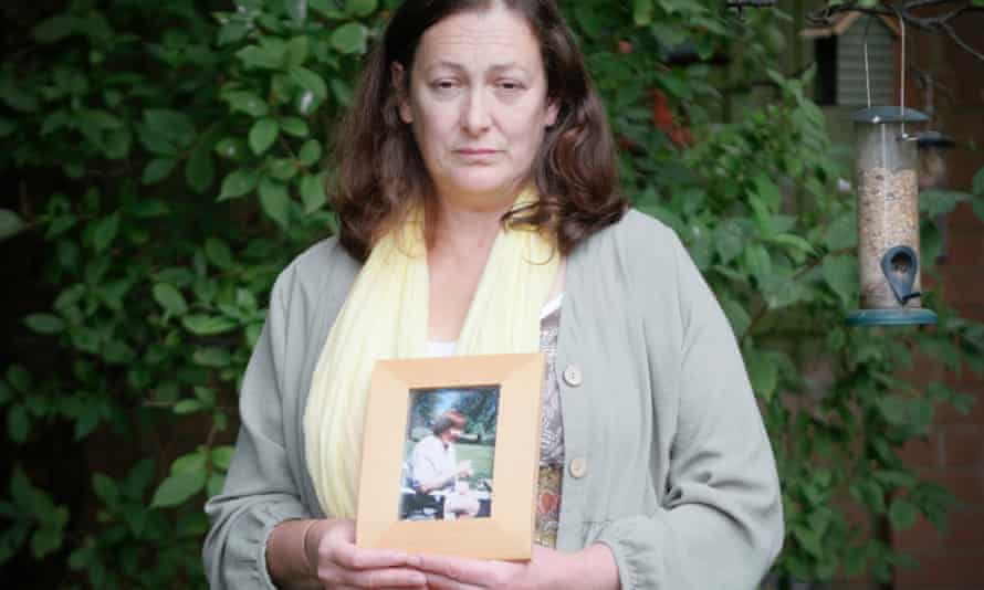 Deborah Doyle, who lost her mother to Covid in April.