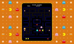 Pac-Man, 1980 (Nintendo Switch version pictured)Namco's formative maze exploration game popularised essential mechanics such as power-ups, bonus items and AI enemies, but perhaps its major influence was in the use of a strong, highly identifiable character. Famously intended by designer Toru Iwatani to resemble a pizza with a piece missing, Pac-Man quickly became a commercially exploitable icon, inspiring books, cartoons and lunch boxes, and teaching the nascent industry the importance of the video game mascot.
