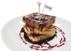 Crème brûlée French toast, Fenway Park (Boston Red Sox)