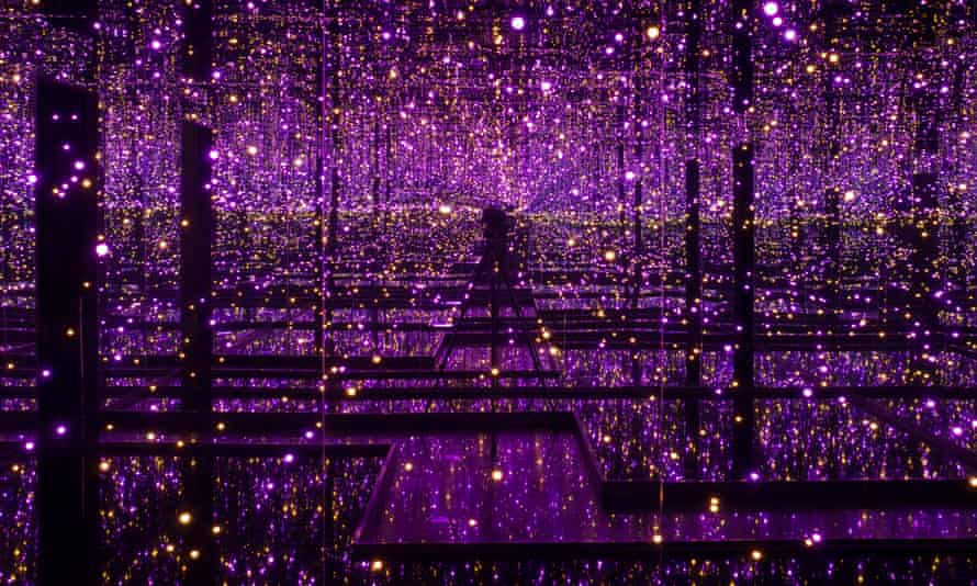 A short trip ... Yayoi Kusama's Filled with the Brilliance of Life, 2011/2017.