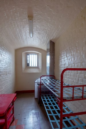 One of Reading's narrow cells.