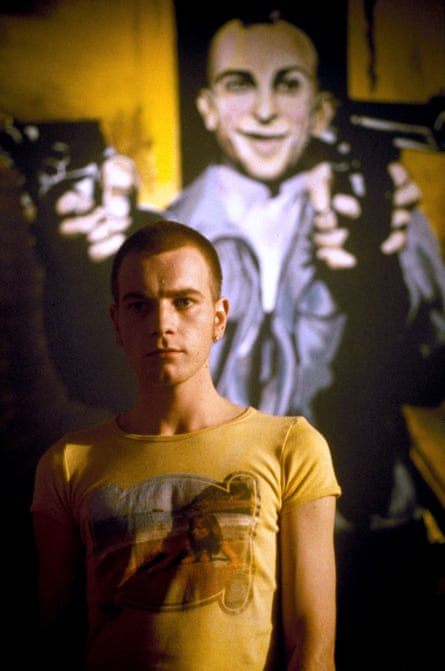 Ewan McGregor as a heroin addict in 1996's Trainspotting