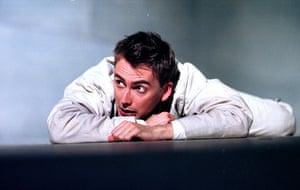 David Tennant as Romeo at the RSC in 2000.